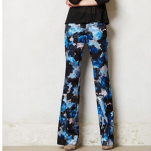 Anthropologie The Brighton Floral Pant
